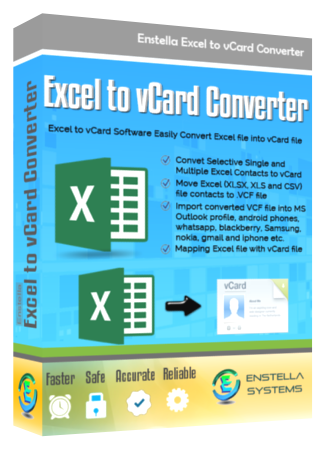 Excel to vCard Converter Tool to Convert Excel Contacts to VCF formats