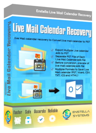 Live Mail Calendar Recovery Software Instantly Convert Live