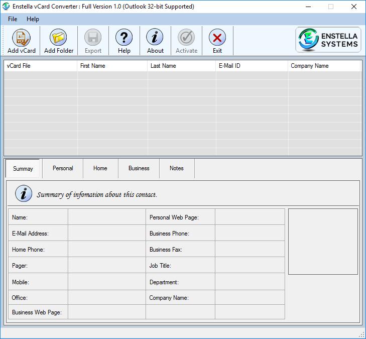 vcf to pdf converter free download