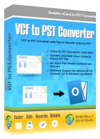 VCF to PST Converter Tool Easily Convert Multiple CVF File