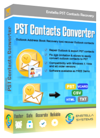 PST Contacts Recovery