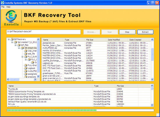 Windows 7 BKF Recovery Software 1.0 full